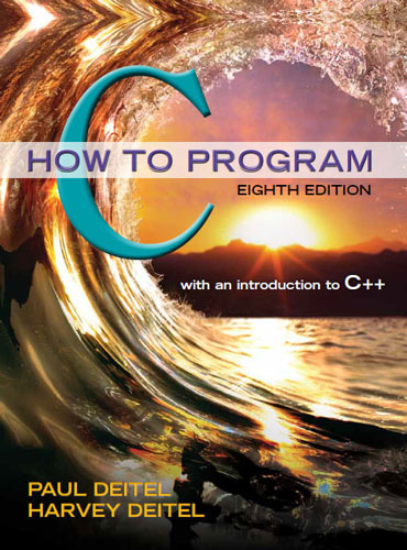 C How To Program 8 E Deitel Associates Inc