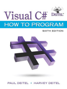 Visual C# How to Program, 6/e Cover